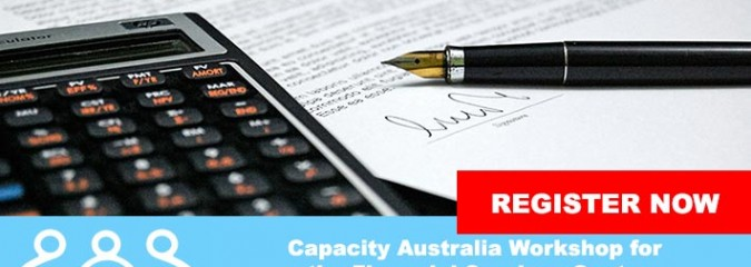 Workshop for the Financial Services Sector presented by Capacity Australia