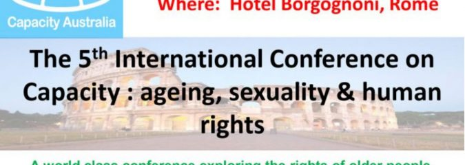 The 5th International Conference on Capacity: Ageing, sexuality & human rights